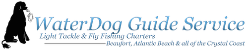 WaterDog Guide Service Logo